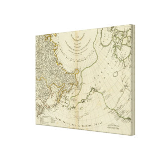 The Russian Discoveries Canvas Print