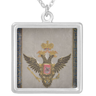The Russian Imperial Family' Silver Plated Necklace