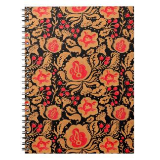 The Russian Khokhloma Pattern Notebook