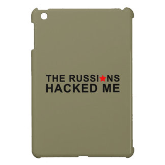 the russians hacked me iPad mini cover