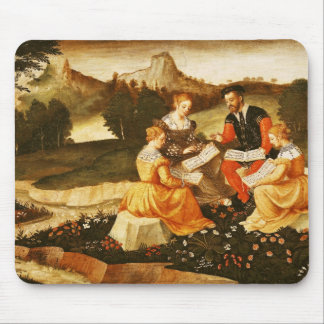 The Rustic Concert, the Song Mouse Pad