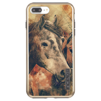 The Rustic Horse Incipio DualPro Shine iPhone 8 Plus/7 Plus Case