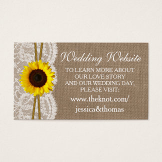 The Rustic Sunflower Wedding Collection Website