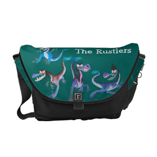 The Rustlers Graphic Courier Bags