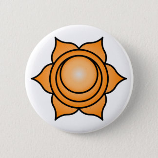 The Sacral Chakra 6 Cm Round Badge