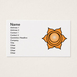 The Sacral Chakra Business Card