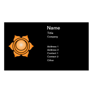 The Sacral Chakra Business Cards