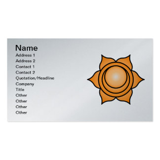 The Sacral Chakra Pack Of Standard Business Cards