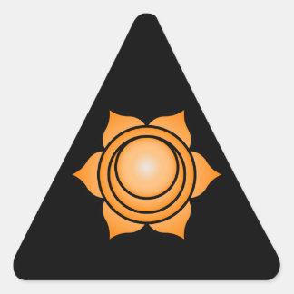 The Sacral Chakra Triangle Sticker