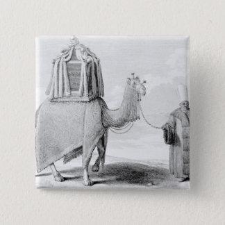 The Sacred Camel 15 Cm Square Badge