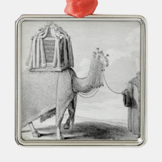 The Sacred Camel Silver-Colored Square Decoration