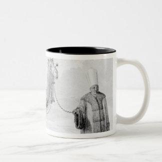 The Sacred Camel Two-Tone Coffee Mug