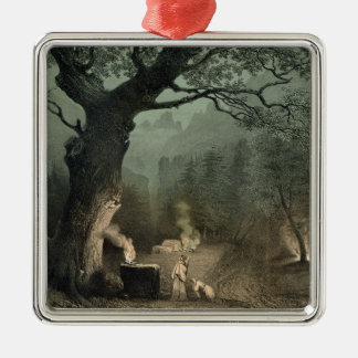 The Sacred Grove of the Druids Christmas Ornament