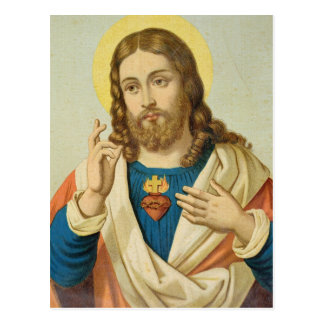The Sacred Heart Postcard