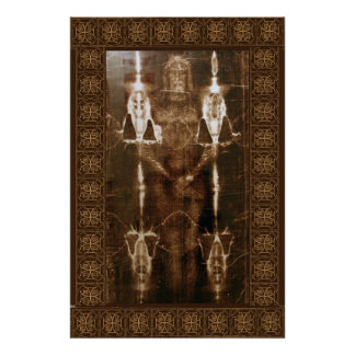 The Sacred Shroud of Turin Giant Wall Mural Poster