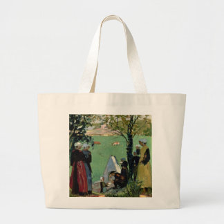 The Sacred Spring in Guidel, c.1905 Large Tote Bag