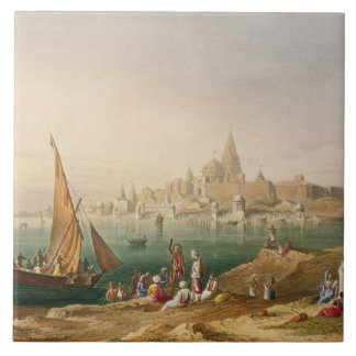 The Sacred Town and Temples of Dwarka, from Volume Tile
