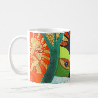 the sacred tree basic white mug