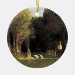The Sacred Wood, 1882, Arnold Bocklin Ornament