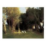The Sacred Wood, 1882, Arnold Bocklin Postcard
