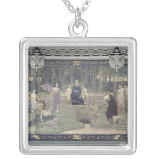 The Sacred Wood Silver Plated Necklace