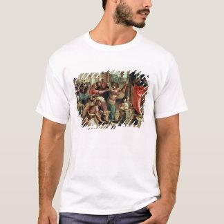 The Sacrifice at Lystra (cartoon for the Sistine C T-Shirt