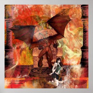The Sacrifice Gothic Fantasy Print