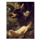 The Sacrifice of Abraham, 1635 Postcard