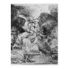 The Sacrifice of Abraham, 1645 Postcard