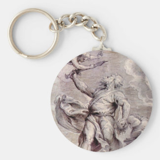 The sacrifice of Abraham by Paul Rubens Keychains