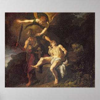 The Sacrifice of Isaac, 1616 Print