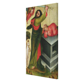 The Sacrifice of Isaac from the High Altar Canvas Print