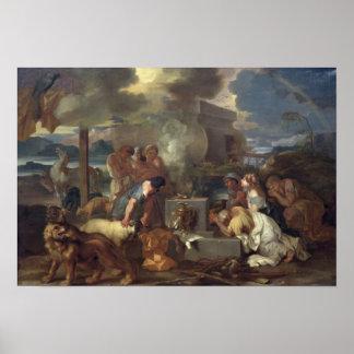 The Sacrifice of Noah, c.1640 Poster