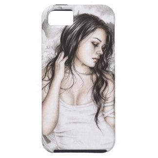 The Sad Angel iPhone Case iPhone 5 Case