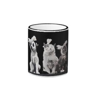 The Sad Trio Coffee Mugs
