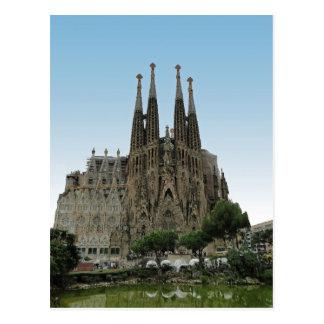 The Sagrada Familia, Barcelona, Spain Postcard