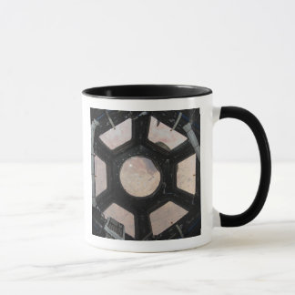 The Sahara Desert visible through the windows Mug