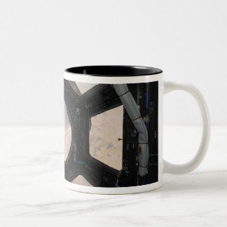 The Sahara Desert visible through the windows Two-Tone Coffee Mug
