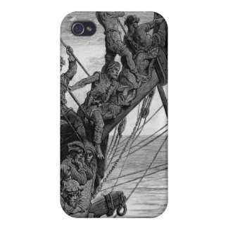 The sailors see in the distance a ghostly ship iPhone 4/4S cover