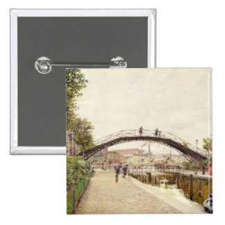The Saint-Martin Canal 15 Cm Square Badge