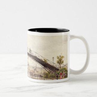 The Saint-Martin Canal Two-Tone Coffee Mug