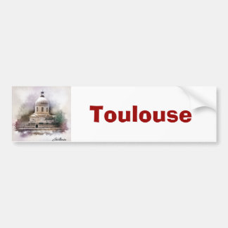 The Saint-Pierre Basilica of Toulouse Bumper Sticker