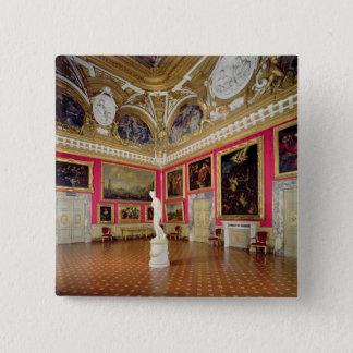 The 'Sala di Venere' (Hall of Venus) containing th 15 Cm Square Badge