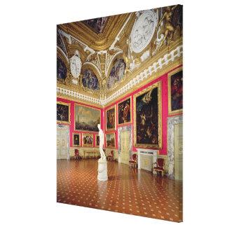 The 'Sala di Venere' (Hall of Venus) containing th Canvas Print