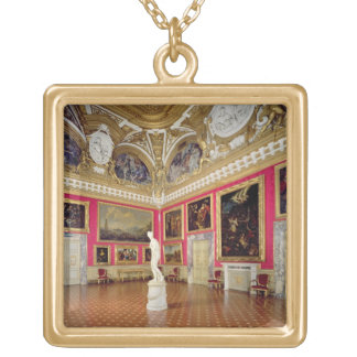 The 'Sala di Venere' (Hall of Venus) containing th Gold Plated Necklace