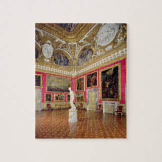 The 'Sala di Venere' (Hall of Venus) containing th Jigsaw Puzzle