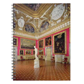 The 'Sala di Venere' (Hall of Venus) containing th Notebook