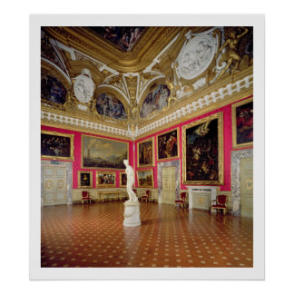 The 'Sala di Venere' (Hall of Venus) containing th Poster