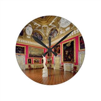 The 'Sala di Venere' (Hall of Venus) containing th Round Clock