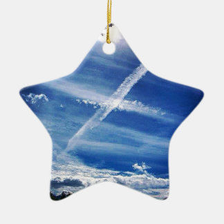 The Saltire in the Sky Christmas Ornament